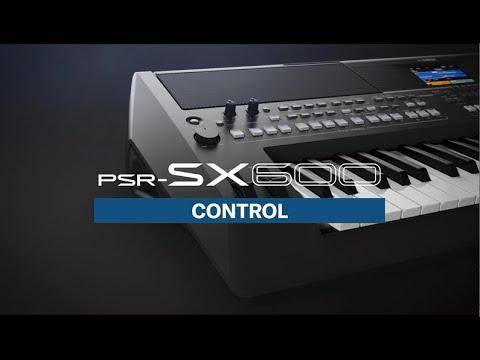 PSR-SX600, Control Overview