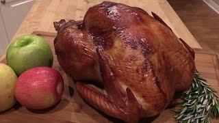 Cajun Smoked Turkey on WSM -- Lobel's All Natural Turkey
