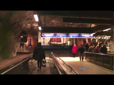 3. ПРИСУТСТВИЕ: МЕТРО СТОКГОЛЬМА // STOCKHOLM UNDERGROUND