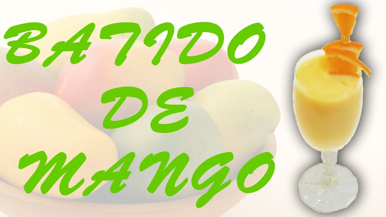 Batido mango thermomix tm5