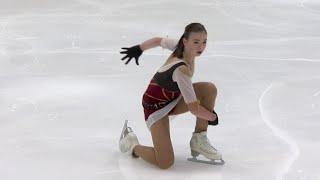 Анастасия Тараканова. Короткая программа. Девушки. Гран-при США по фигурному катанию среди