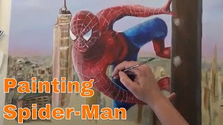 Painting Spider-Man (Tobey Maguire) - Timelapse