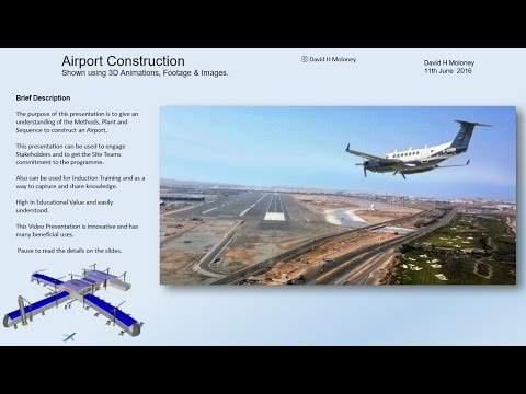 Airport Construction Video Presentation