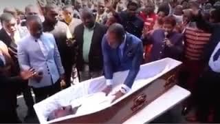 South African Pastor Alph Lukau raises 'dead man': Watch the man's resurrection video