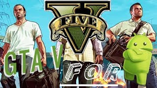 How To Download GTA V 600MB[ WITH APK+DATA ]On Android Real Gta v Mod 100% Working-Android Devices
