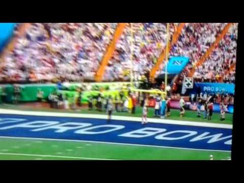 Indianapolis Colts Mascot Humps the Air