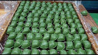전통시장 다양한 떡 만들기,꿀떡,바람떡,팥소절편 - 망…