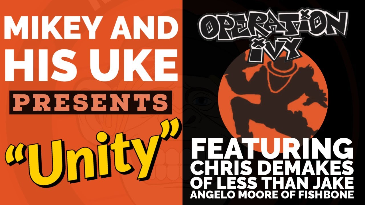 Download OPERATION IVY 'UNITY' Vol 94 - COVER BY CHRIS DEMAKES, ANGELO MOORE, DARRIN PFEIFFER, MIKEY HAWDON