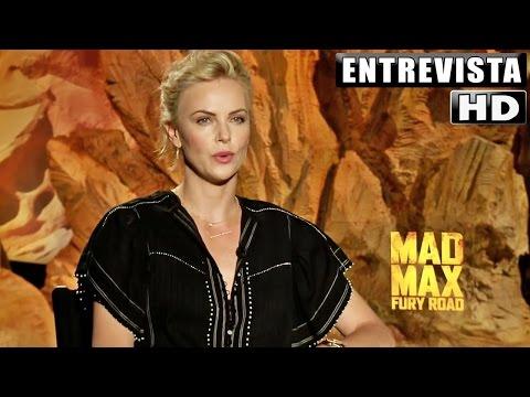 "Mad Max: Furia en la Carretera Entrevista ""Charlize Theron"" Subtitulado"