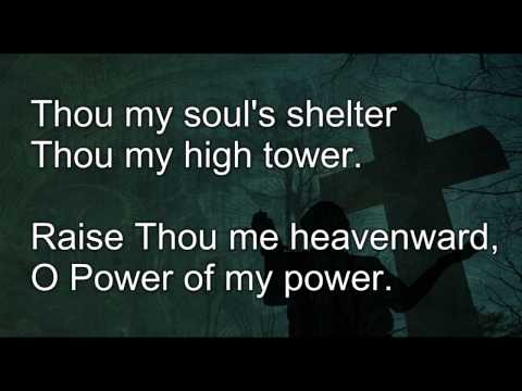 Be Thou My Vision by Robin Mark with lyrics