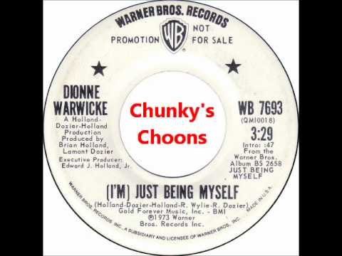 Dionne Warwicke - (I'm) Just Being Myself
