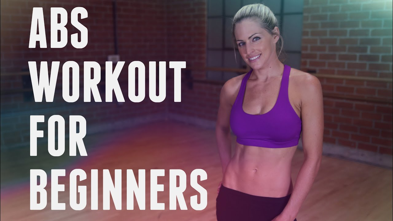 10 Minute Abs Workout For Beginners Youtube