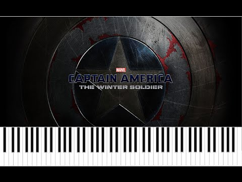 "Captain America : The Winter Soldier ""Gender"" Trailer 2 - piano + sheet music"