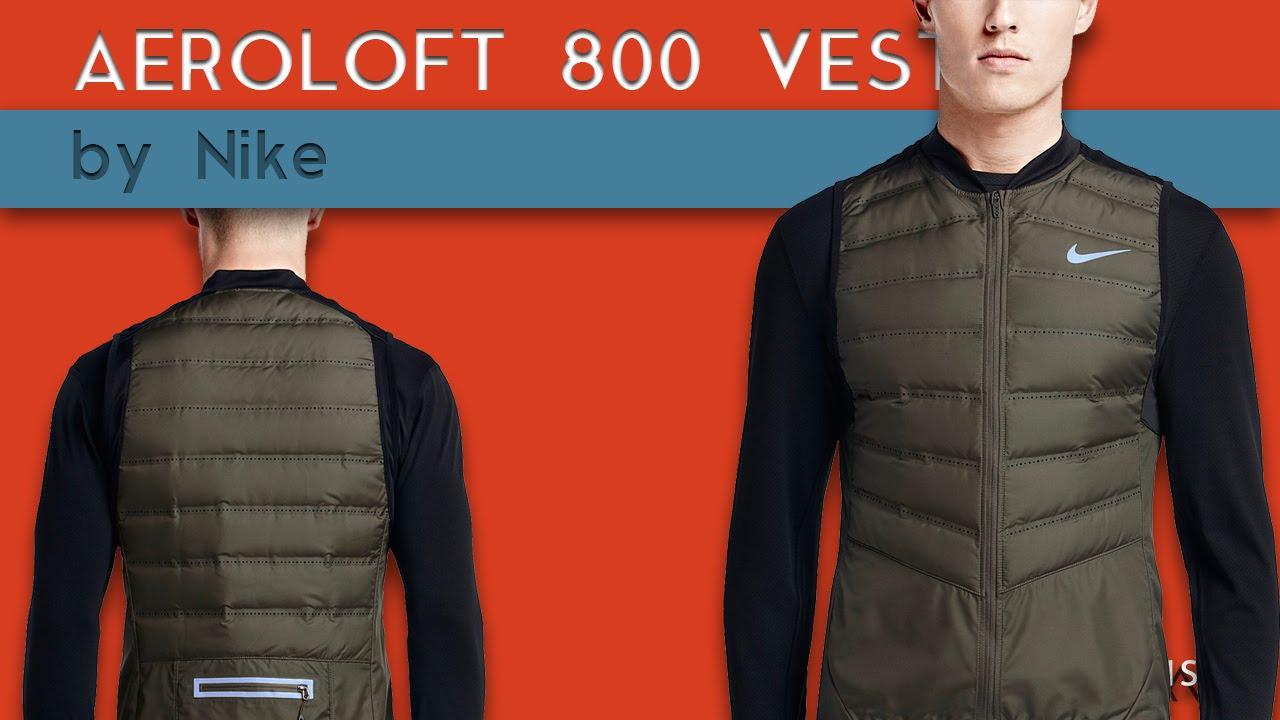 nike aeroloft vest black