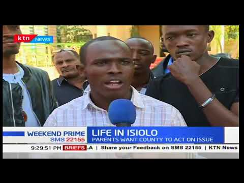 Parents in Isiolo are worried over a new addictive drug in the county