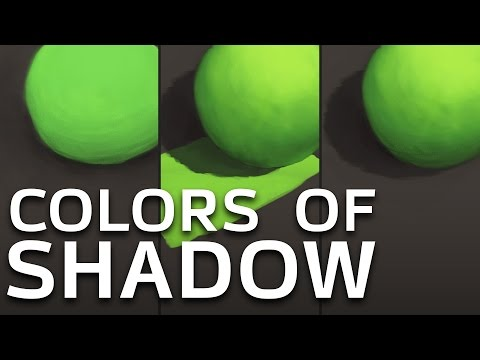 HOW TO CHOOSE COLORS OF SHADOW - BoroSchool