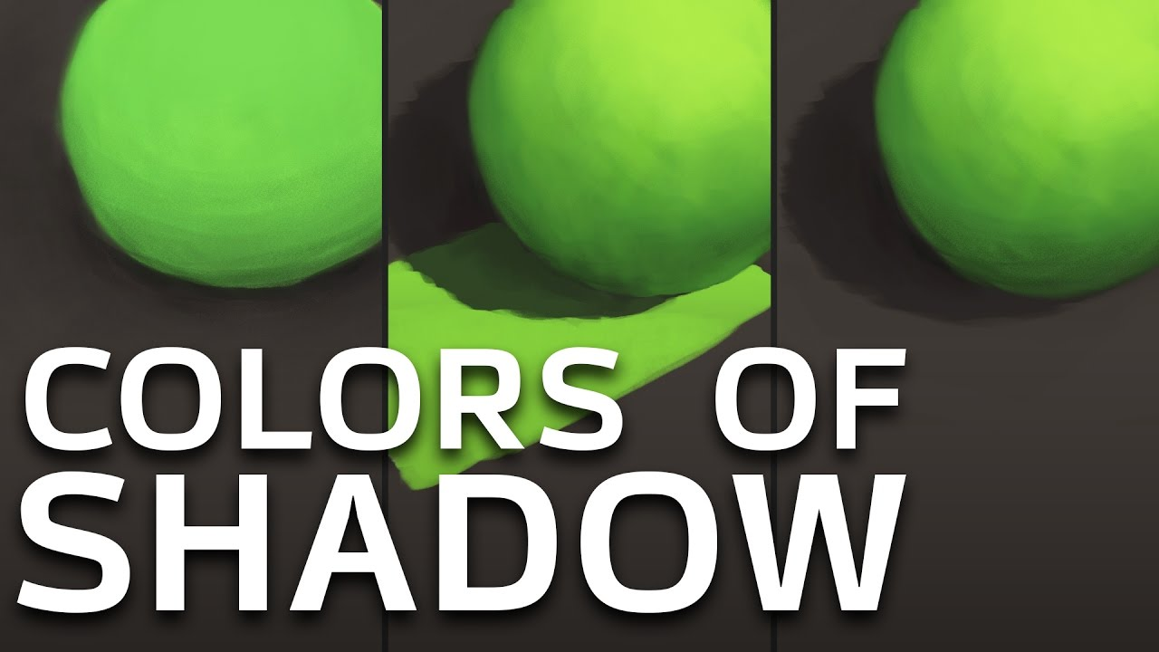 HOW TO CHOOSE COLORS OF SHADOW - Tutorial - YouTube
