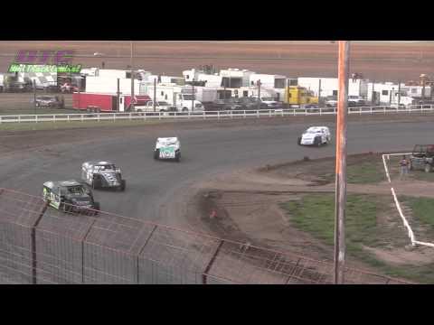 IMCA Modified Heats Wakeeney Speedway 5-25-15