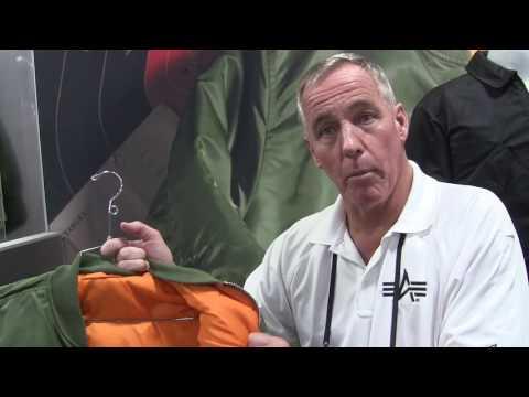 Alpha Industries Ballistic Flight Jacket At The 2017 SHOT Show