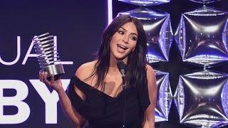 Kim Kardashian Accepts Webby Awards