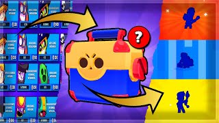 LUCKIEST BOX OPENING (7 Brawlers) 🎁