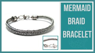 Download Mermaid Wire Braid Bracelet Tutorial - Beaducation.com Mp3 and Videos