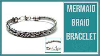 Mermaid Wire Braid Bracelet Tutorial - Beaducation.com