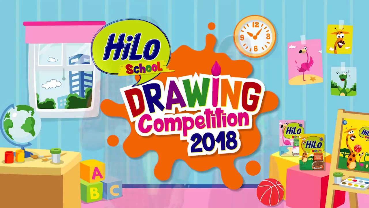 Hilo School Drawing Competition 2018 Youtube