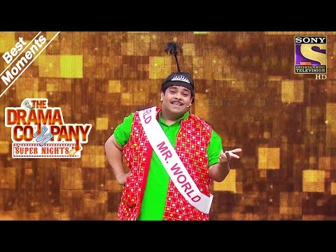 The Drama Company | Baccha Yadav Wins Mr. World | Best Moments