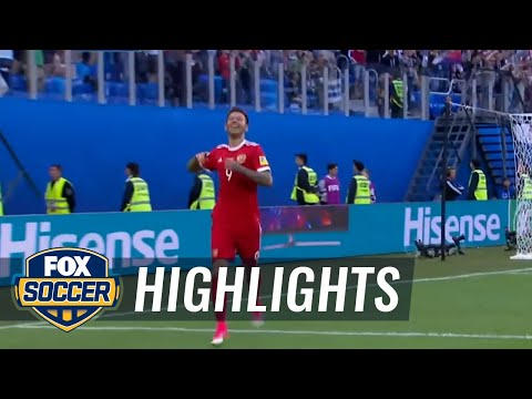 Fedor Smolov makes it 2-0 for Russia vs. New Zealand | 2017 FIFA Confederations Cup Highlights