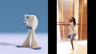 Do The Yeti dance with the new movie SMALLFOOT