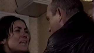 Tiffany falls down the stairs (EastEnders)