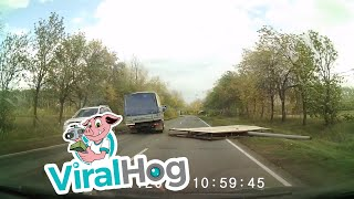 Sign Nearly Causes Serious Crash || ViralHog