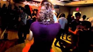 Leon Powell & Maggie Brukalo Social Dancing at Mr. Mambo
