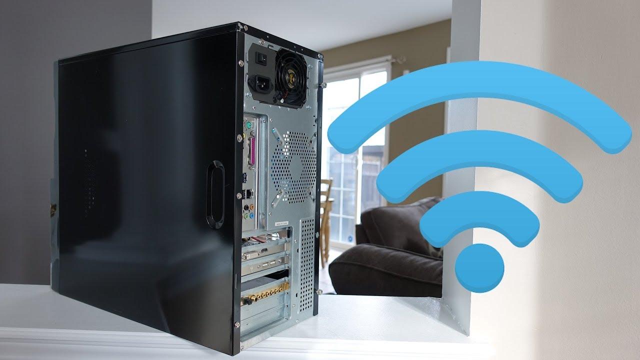 3 Ways To Get Wifi On A Desktop Pc Youtube