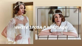 Mysecret white Sposa Backstage 2018