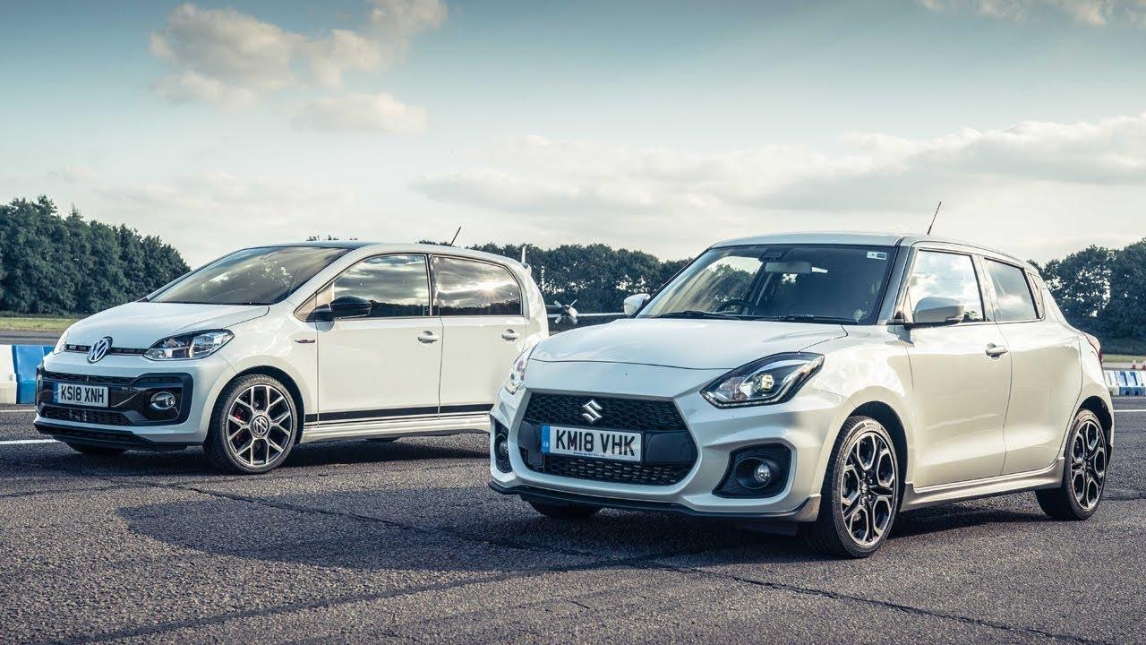 Volkswagen Up GTI vs Suzuki Swift Sport | Drag Races | Top Gear