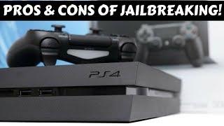 Advantages & Disadvantages Of Jailbreaking PS4 |HINDI|.