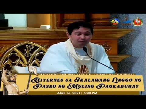 Biyernes sa Ikalawang Linggo ng Pasko ng Muling Pagkabuhay | SJBP - Calamba City
