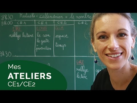 LES ATELIERS DE MA CLASSE DE CE1/CE2 [VLOG 24]