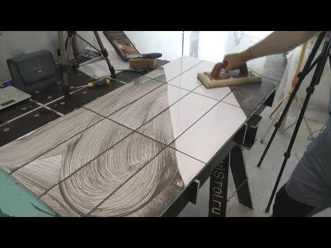 Как сделать качественную цементную затирку от А до Я ? Возможные  ошибки. Инструмент.