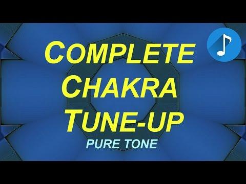 Full Chakra Tune-Up - Pure Tone Brainwaves - Root to Crown - Binaural Beats