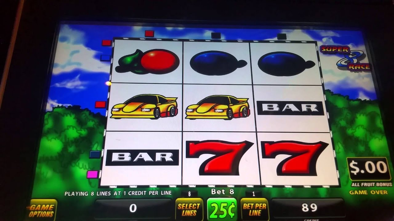 Race Car Slot Machine
