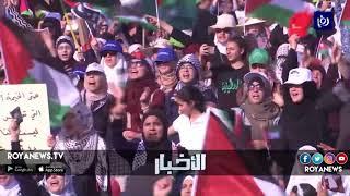 فعاليات يسارية وقومية وإسلامية تنظم مسيرة العودة في الأغوار بالتزامن مع ذكرى النكبة - (11-5-2018)