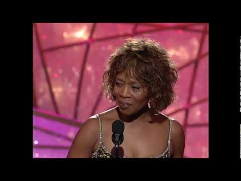 Alfre Woodard Wins Best Actress MiniSeries or TV Movie  Golden Globes 1998