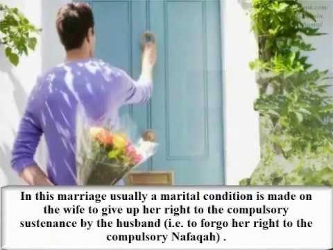 Sunni invented temporary marriages Misyar Misyaf Misfar Binyat Attalaaq