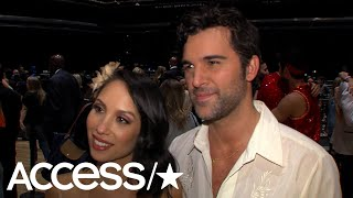 'DWTS': Juan Pablo Di Pace & Cheryl Burke Disappointed Over Their Shocking Elimination | Access