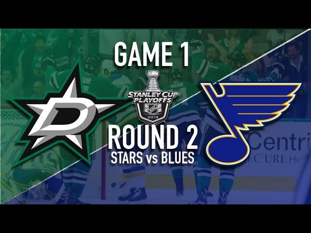 Dallas Stars @ St Louis Blues | Round 2 | Game 1