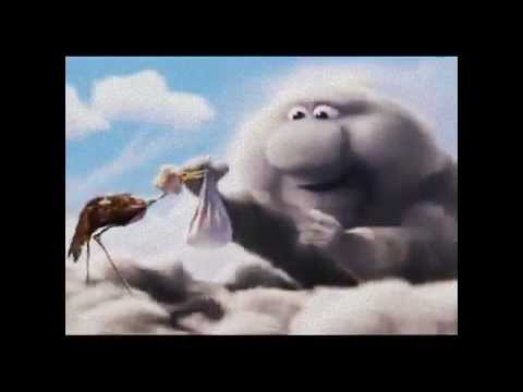 Questo cartone animato spiega il lavoro faticoso della cicogna
