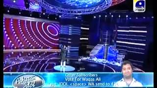 Waqas Ali  Song full video Pakistan Idol Episode 19